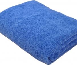 Простыня махровая 155х200 Синий